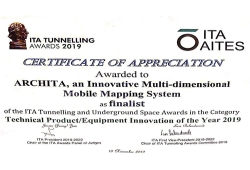ETS among the 4 finalists for technological innovation at the ITA Tunneling Awards 2019